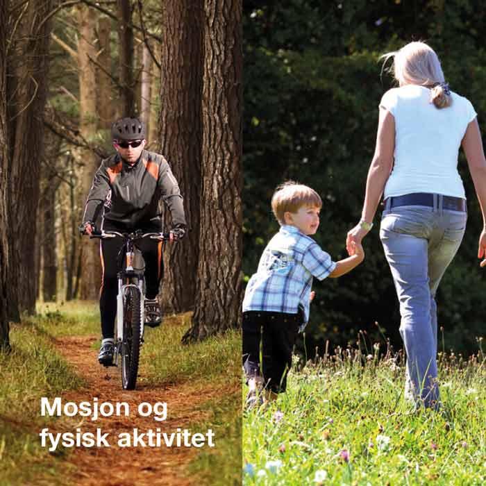 Mosjon og fysisk aktivitet